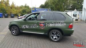BMW X5 Nato Oliv Hauptstadt Wrapper (4)