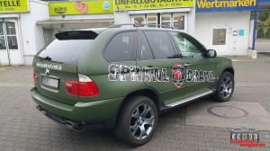 BMW X5 Nato Oliv Hauptstadt Wrapper (6)