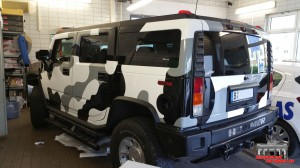 Hummer H2 Camouflage Wintertarn Folierung Car Wrapping Hauptstadt Wrapper (5)