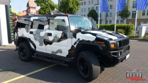 Hummer H2 Camouflage Wintertarn Folierung Car Wrapping Hauptstadt Wrapper (6)