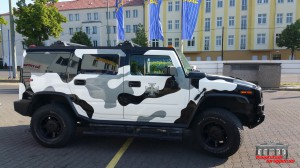 Hummer H2 Camouflage Wintertarn Folierung Car Wrapping Hauptstadt Wrapper (7)
