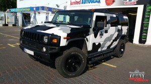 Hummer H2 Camouflage Wintertarn Folierung Car Wrapping Hauptstadt Wrapper (9)